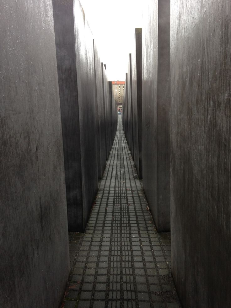 We were able to stop in Berlin for a weekend for the International Film Festival and to check out the city. This memorial to Jewish Holocaust victims really stuck with me.