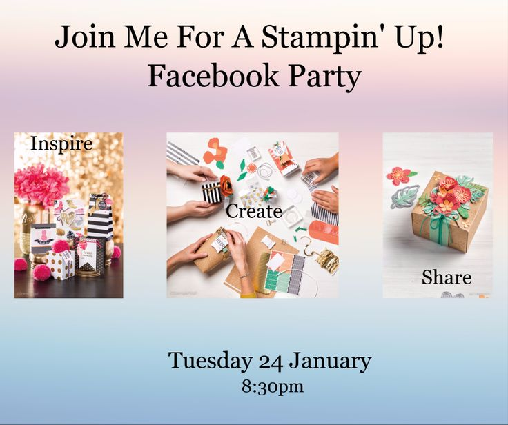 We are all super busy these days, so I'm hosting a Stamping party…right here on Facebook!!   The party will go for 30 minutes MAX. and we will be exploring all the new goodies from the Occasions catalogue.