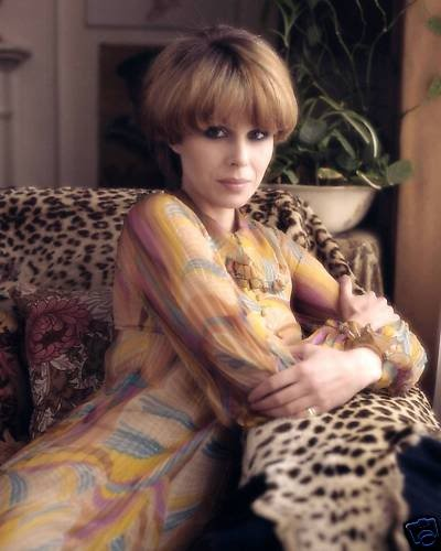 Joanna Lumley as Purdey from the New Avengers