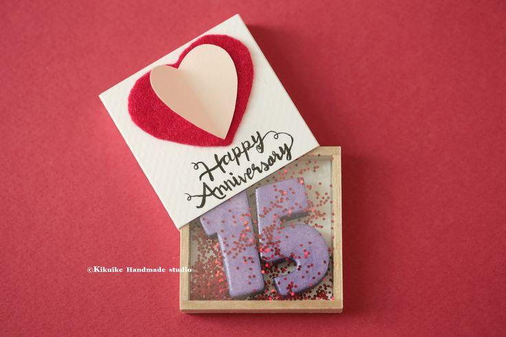 Anniversary matchbox,Anniversary Love Card,Anniversary gift,Miniatures,Valentine's Gift,Funny Love Card,Gift for her/him,Girlfriend gift. #cardideas #holidaygift #Xmasgift #birthday #paper #initials #sparkle # glitter #shine #handmadegift #GreetingCards #Longdistancegift #partygift #thoughtfulgift #anniversarycard #handpainted #手塗り #kikuikestudio #ornament