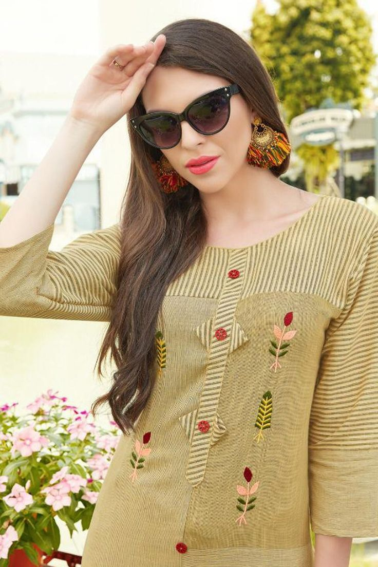 Winter Collection|Wholesale Rayon Embroidery Work Event Wear Stylish Kurti With …