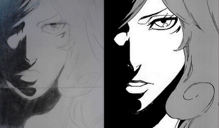 Hi this is Kirio Hikifune from bleach. At the right is my sketch and at left is the original.  What do you think?