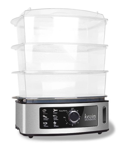 take a look at the kevin dundon silver 15qt electric food steamer on