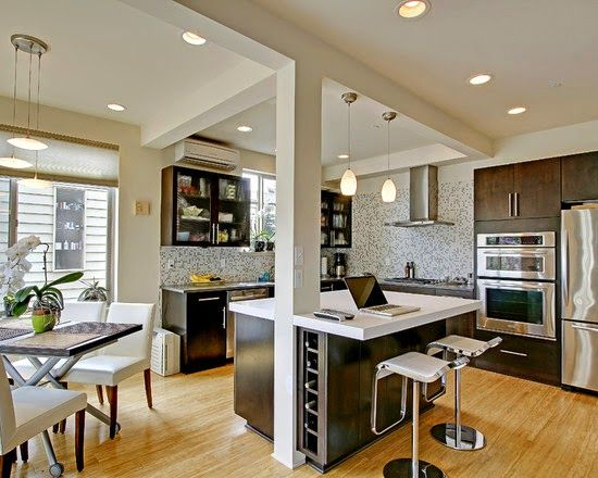 Las 25 mejores ideas sobre apartamentos estudios de tipo for Tipos de cocina arquitectura