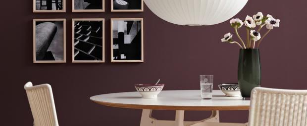21 besten wandfarbe beere bilder auf pinterest dekoration farben und wandfarben. Black Bedroom Furniture Sets. Home Design Ideas