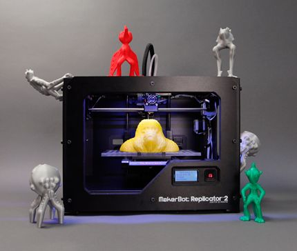 MakerBot and Autodesk to jointly develop and market 3D design and 3D printers