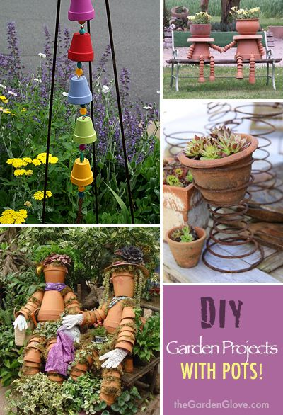 Garden Projects With Pots! • Tips, Ideas & Great Tutorials!