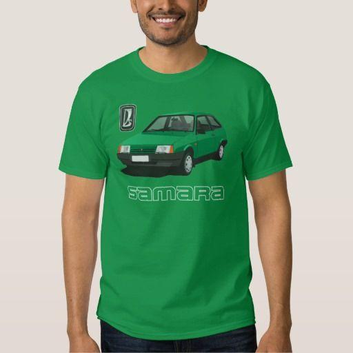 VAZ-2109 | Lada Samara | ВАЗ-2109, DIY, green  #lada #samara #vaz-2109 #sputnik #ВАЗ-2109 #russia #automobile #tshirt #green