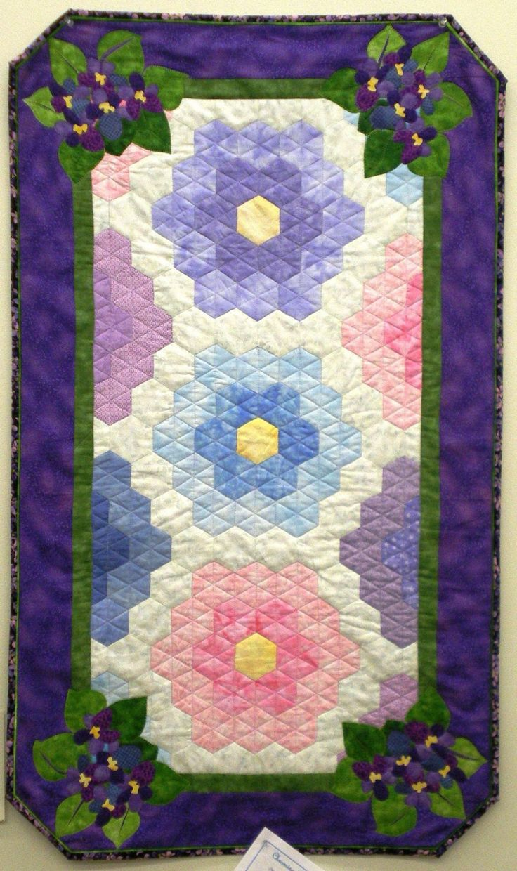 It's All About The Fabric: How Do You Make A Grandmothers Flower Garden Quilt?