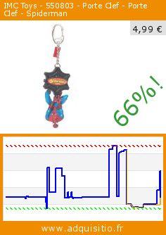 IMC Toys - 550803 - Porte Clef - Porte Clef - Spiderman (Jouet). Réduction de 66%! Prix actuel 4,99 €, l'ancien prix était de 14,85 €. http://www.adquisitio.fr/imc-toys/550803-porte-clef-porte