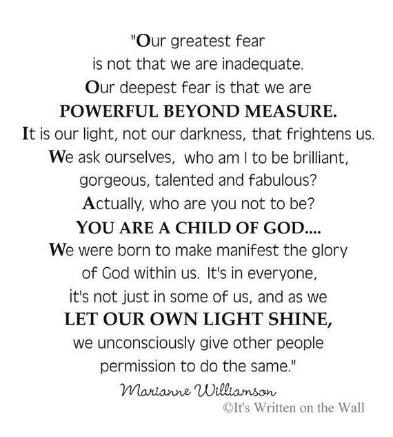 Marianne Williamson/ Akeelah and the Bee
