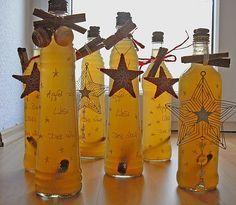 Apfel - Zimt - Likör, ein schönes Rezept aus der Kategorie Likör. Bewertungen…