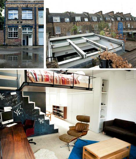 bed bridges open loft u0026 rooftop deck via dornobcom