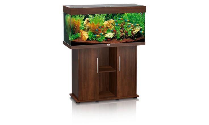 Aquariumsets zoetwater met meubel : Juwel Rio 180 donkerbruin inclusief meubel