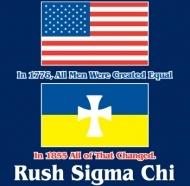 Sigma Chi-Better than the rest. Rush shirt idea.