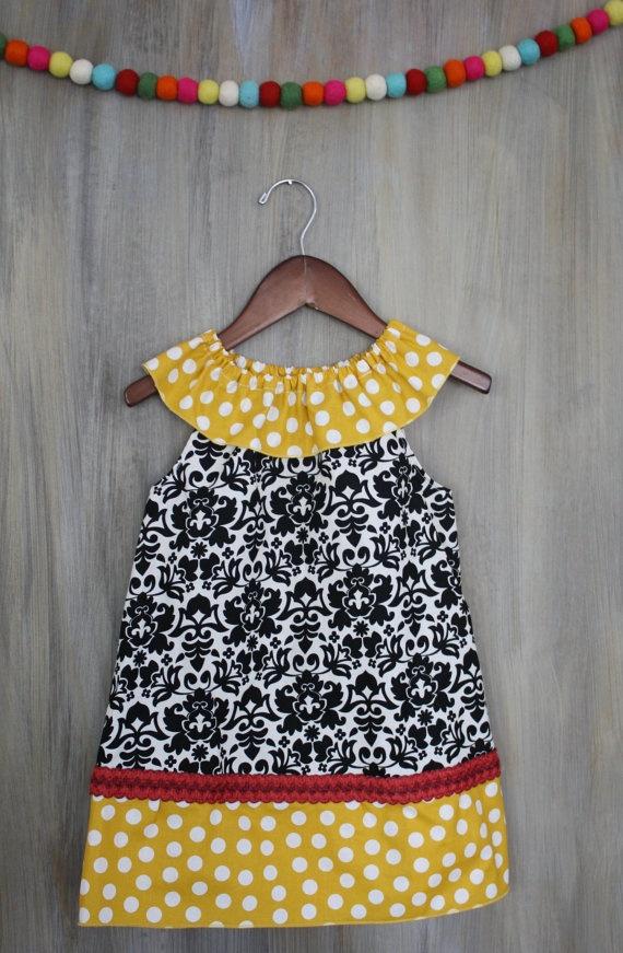 little girls dress.not the fabrics,though