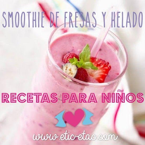 Recetas: Smoothie de fresas