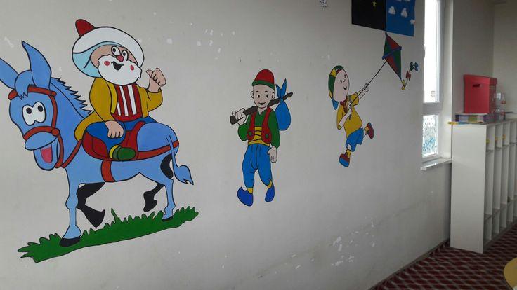 Okul duvar resimleri
