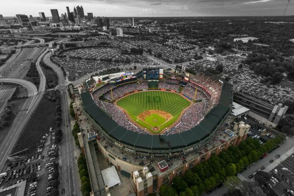 Turner Field, home of the Atlanta Braves.