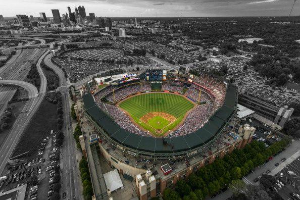 Turner Field, home of the Atlanta Braves.