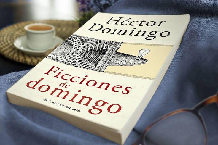 """Ficciones de domingo, por Héctor Domingo.   """"La curiosidad mató al gato. Y los gatos aprendieron pronto. Desde entonces tienen nueve vidas.""""  #HectorDomingo"""