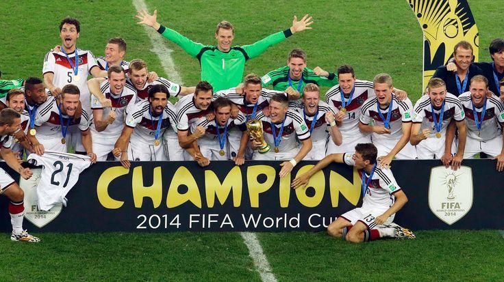 Alemania Campeón Mundial 2014!