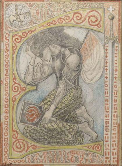 Jan Toorop - Jeanne d'Arc