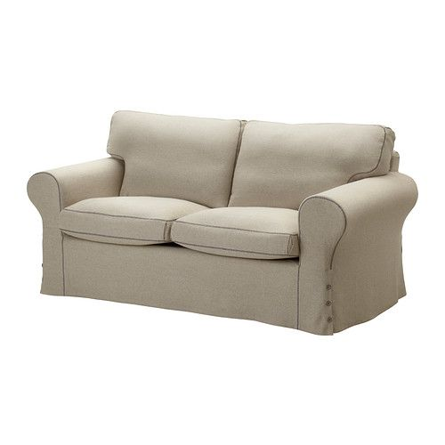 EKTORP Two-seat sofa - Risane natural - IKEA