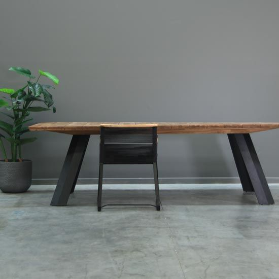 FDT412 Rocco Dining Table Black