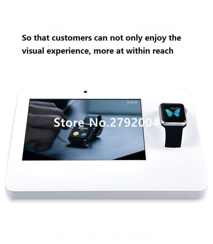 Beautiful 10 Pcs/lot The New Watch Smart Watch Anti   Theft Charging Alarm Display  Bracket
