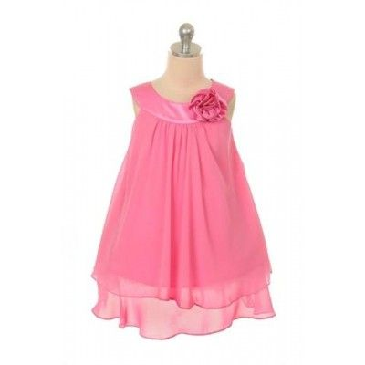 stunning dress in fushia