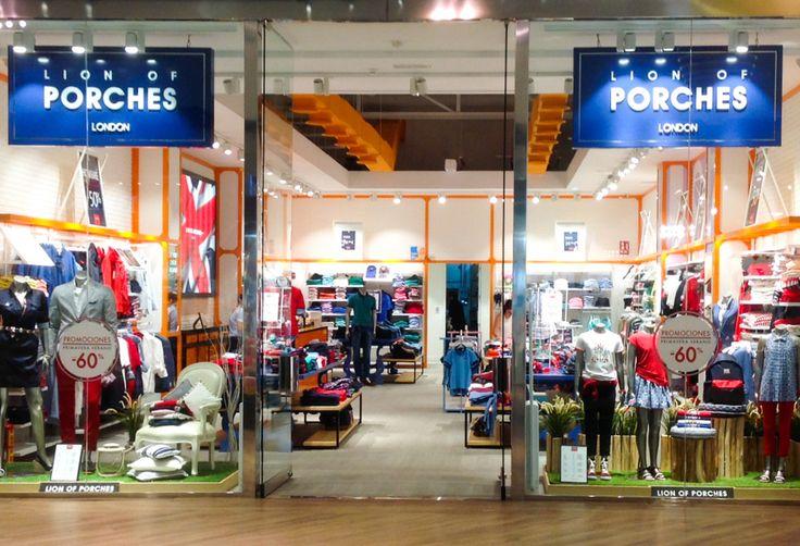 NUEVA TIENDA l Madrid, San Sebastián de los Reyes The Style Outlets El original estilo británico ahora está más cerca de sí. www.lionofporches.com