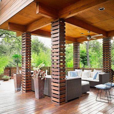 Living Room Under The Deck: Under Deck Ideas: Unique Ideas in Unique Space | Best Home Design Ideas and Photos