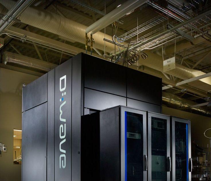 D-Wave-Quantencomputer: So groß wie ein kleines Gartenhäuschen.