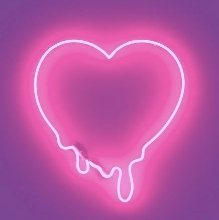This pink neon heart is totally something that Packed Party would have in our office!