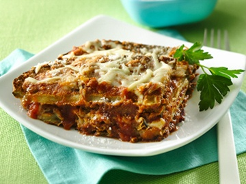 "No-Harm Eggplant Parm  From ""Hungry Girl to the MAX!"" page 114"