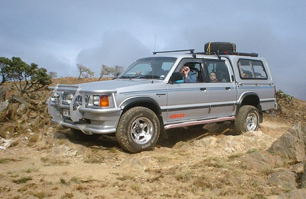 This '93 3-litre V6 belongs to Jacques Stassen, who's considering trading the beefy V6 motor for a 2.5 diesel.