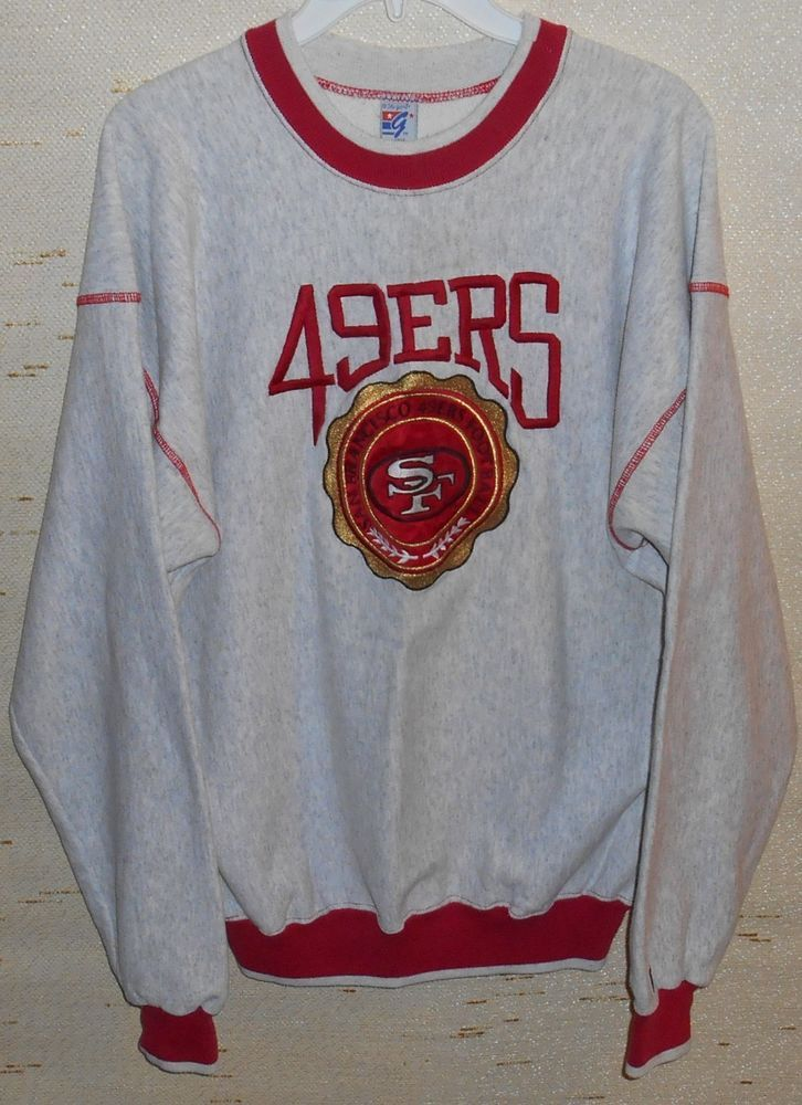 finest selection e9139 ebbbf Details about Vintage SAN FRANCISCO 49ers FORTY NINERS ...