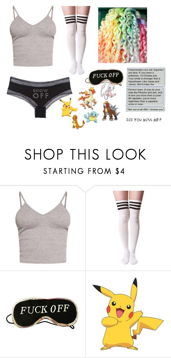 """Jaiden Smith's Pajamas #1"" by maya-fischbach on Polyvore featuring BasicGrey, La Senza and York Wallcoverings"