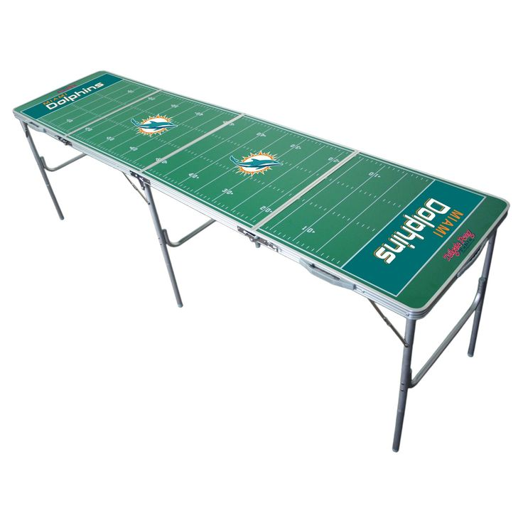 NFL Miami Dolphins Tailgate Table - 2'x8',