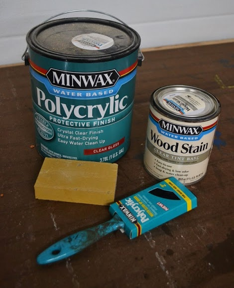 How To Paint Furniture | Minwax Water Based Stain on Oak Hardwood Plywood | Ana White - Homemaker