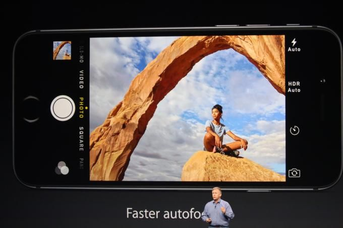 Image stabilization technology included in the new iPhone 6 camera