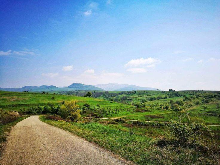 #romania #road #sky