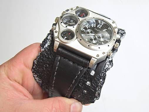 leon / Pánske štýlové hodinky, antialergický remeinok