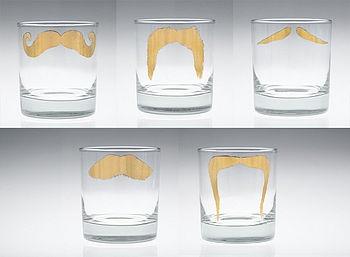 moustache tumblers: Moustache Tumblers