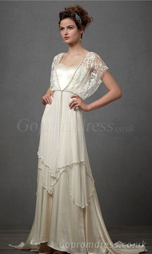 wedding dresses with sleeves.. Very 20s