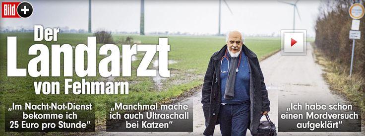 Helfer in Not: Der Landarzt Dr. Johannes Grünitz von Fehmarn. Seit 32 Jahren im Einsatz! Der Landarzt von Fehmarn Manchmal macht Dr. Johannes Grünitz (64) sogar Ultraschall-Untersuchungen bei Katzen http://www.bild.de/bild-plus/news/inland/arzt/von-fehmarn-39484108,var=x,view=conversionToLogin.bild.html