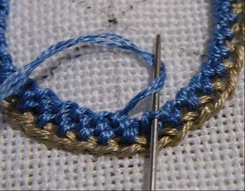 Variation 5: Spiral Trellis