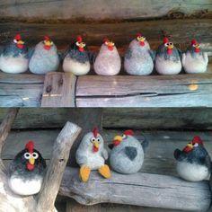 Петухи.Шумская Марина. Roosting chickens.