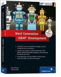 Next Generation ABAP Development (2nd Edition)http://sapcrmerp.blogspot.com/2012/01/next-generation-abap-development-2nd.html